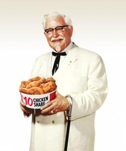 KFC The Original Colonel Harland Sanders
